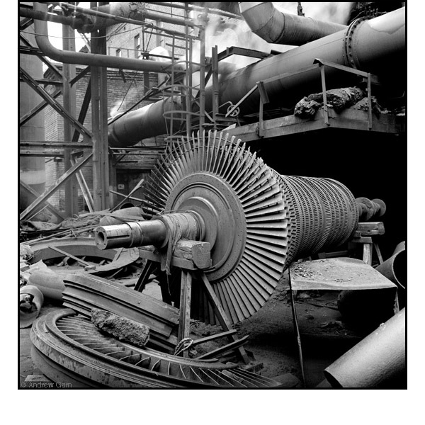 Turbines, MMK Steel Works, Siberia