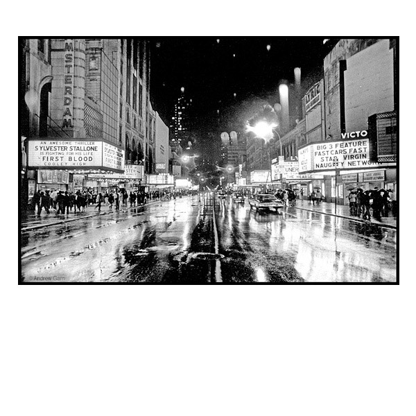 Rainy Night, 42nd St, New York City